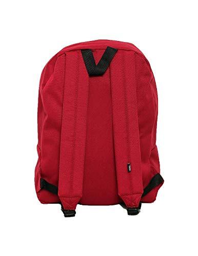 Vans Mochila Unisex Old Skool Backpack One Size rojo