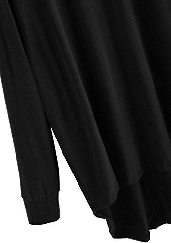 Emma & Giovanni Pull - Tshirt Loose Fit - Femme Noir