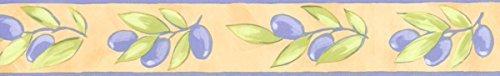 Preisvergleich Produktbild Selbstklebende Bordüre Olivenzweige 33051