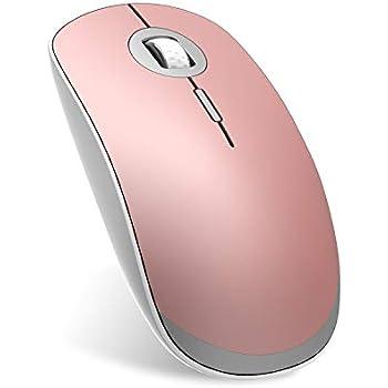 Szyee Ratón Bluetooth Ratón Inalámbrico Ratón Recargable Ratón portátil Silencioso Ultrafino Se Aplica para PC Computadora Ordenador Portátil Windows ...