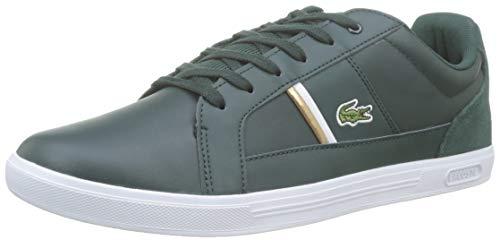 Lacoste Herren Europa 319 1 SMA Sneaker, Grün (Dk Grn/Wht 2d2), 44 EU