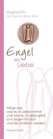 Cadeaux religieux: Ange protecteur plaque–broches en bronze, 2,5cm–Ange de l'amour