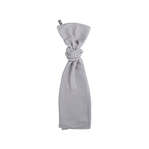 Baby's Only 921102 Swaddle Pucktuch silbergrau 120x120 cm