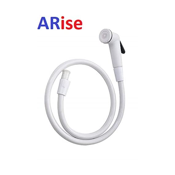 Arise Jagger Health Faucet Shower Toilet Jet Spray with 1 m Flexible Hose with Wall Bracket