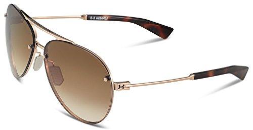 Under Armour Eyewear Core 2.0 Sunglasses (Shiny White-Navy Temples/Gray Blue