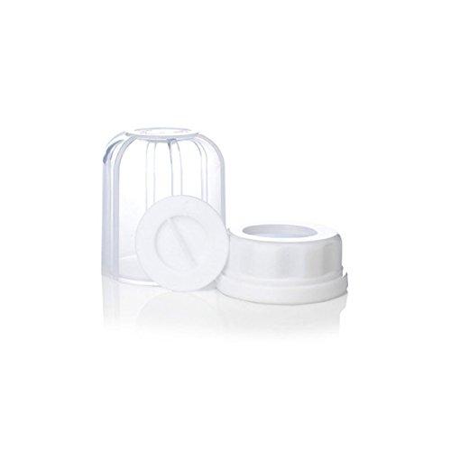 Lifefactory 111013 Ersatzteil-Set für Glas-Babyflaschen, Kappe, Ring, Plättchen