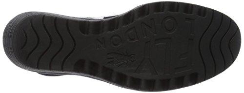 Fly London P500682020, Chaussures Mary Jane Avec Coin Femme Noir (noir)