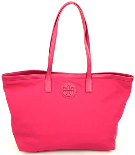 Tory Burch Dena Damen Handtasche Nylon Carnation Red RP £260