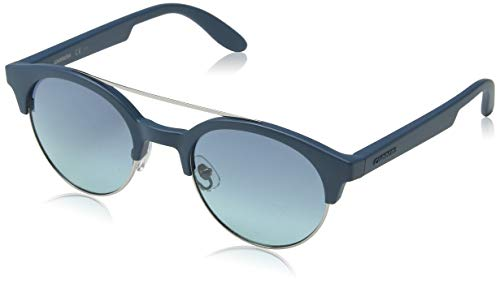 Carrera 5035/s x2 rg0, occhiali da sole unisex-adulto, grigio (petrol ruthen/blue turquo sf), 50
