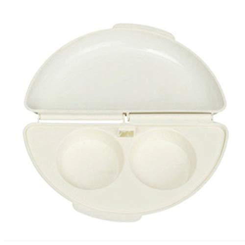 Heaviesk Mikrowelle Omelettkocher Nützlich Tragbare 1-2 Minuten Herd Eier Dampfer Pfanne Eierkocher Omelettpfanne Home Kitchen Tool (Eier Dampfer Herd)