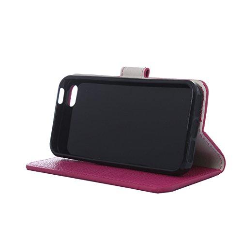 AYASHO® iPhone SE / 5s / 5 Hülle - Hohe Qualität Gemalt PU Kunst Lederhülle Tasche Hülle Kunstleder Flip Case Tasche Etui Schutzhülle für iPhone SE / iPhone 5 / iPhone 5S (A13) A28