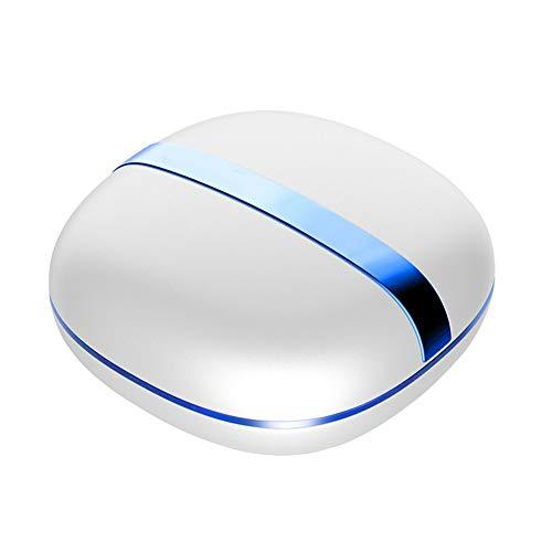 Wo nice Kontaktlinsenreiniger USB-Ladegerät Kleiner und tragbarer Ultraschallreiniger für Verschiedene Arten von Kontaktlinsen,Blue