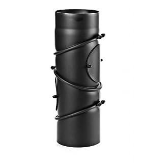 Ø 120 mm - Ofenrohr Multibogen Schwarz