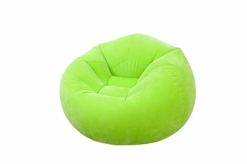 Intex Beanless Bag Cafe Chair Sitzsack in drei Farben (Grün)