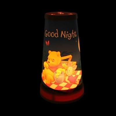 DISNEY WINNIE POOH Kinderlampe mit Ferkel Magische Tischlampe Nachtlicht Beleuchtung Nachttischlampe von Disney auf Lampenhans.de