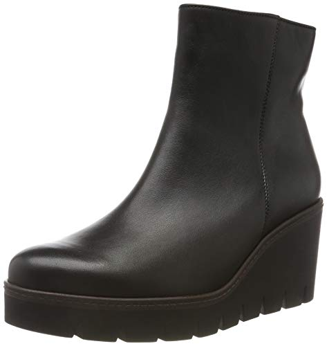 Gabor Shoes Damen Casual Stiefeletten, Schwarz (Schwarz (Cognac) 27), 38 EU