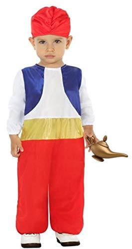 Fancy Me Baby Jungen Arabischer Prinz Cartoon Karneval World Book Day Halloween Kostüm (Disney Jungen Prinzen Kostüm)