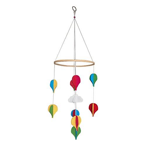 Baby Filz Mobile Babybett Wiege Schöne hängende Dekoration Kinderzimmer Baby Dusche Geschenk Junge Mädchen Bright Bunte Luftballons, Baby Zubehör, Home Decor (Baby-dusche-geschenke Für Jungen)