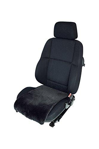 Preisvergleich Produktbild Autositz-Auflage/Aufleger aus Merino Lammfell Premium 36cm Breite x 60cm Länge für Sitzfläche (Schiefer)