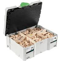 FESTOOL 498204 Beechwood DOMINO assortiment DS / XL D8/D10 306x BU **U.K.IMPORT**
