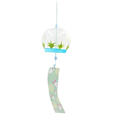 OIBHFO Home Furin Wind Chimes Mobile Windchime Ornamento Colgante Regalo Decoración Conejo