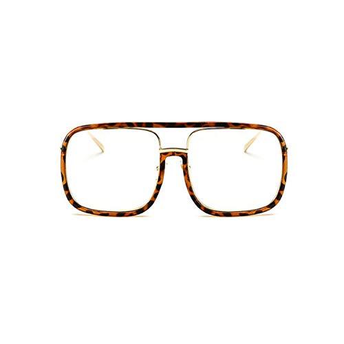 Sport-Sonnenbrillen, Vintage Sonnenbrillen, NEW Square Sunglasses Women Men Metal Transparente Sun Glasses Fashion High Quality Vintage Lunette De Soleil Femme 8