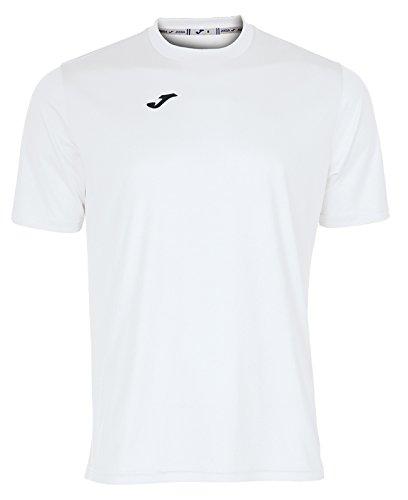 Joma combi, maglietta unisex-adulto, bianco, xl
