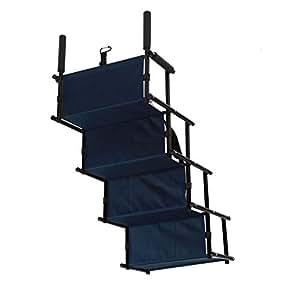 Pawhut Folding Pet Ramp 180kg Dogs Cats Bifold Stairs Steps Travel Ladder Portable 183Lx36Wx5Tcm