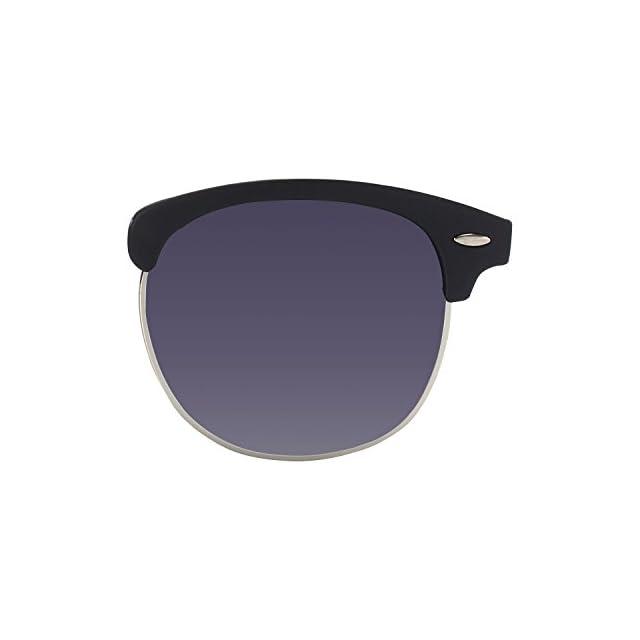 ... CGID MJ56 Lunettes de soleil Demi-cerclées écailles Demi Monture  Inspirées Premium avec Rivets Métalliques ba4110f8a5b7
