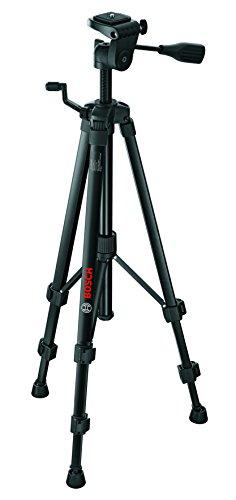 Bosch Professional Baustativ BT 150 (55-157 cm, 1,5 kg, Stativ-Gewinde 1/4 Zoll)