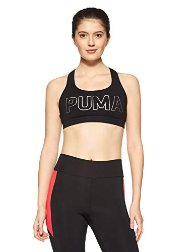 PUMA 515991 02 Haut court Femme Puma Black Puma Copper FR   XL (Taille e99546b97ac