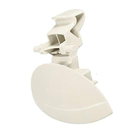 XuBa Poignée en nylon noir C4 pour compartiment de boîte à gants, solution de réparation de boîte à gants