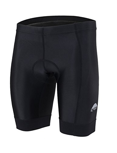 iCreat Men's Cycling Compression Shorts Running Pants Padded with Quick-Dry-Function S-XXXL