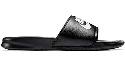 Nike Ciabatte Da Doccia Benassi JDI Uomo Nero 343880-090 - Strand Sandalen Flip Flops Thongs