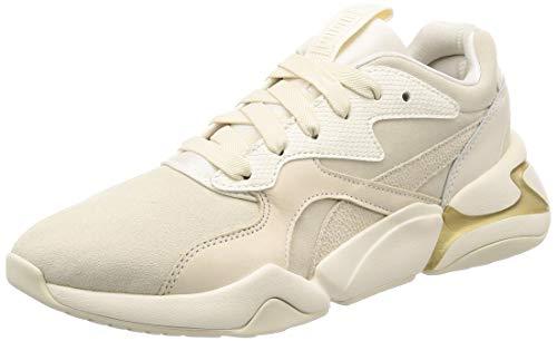 Puma Nova Pastel Grunge Wn's, Zapatillas para Mujer, Blanco Whisper White, 36 EU
