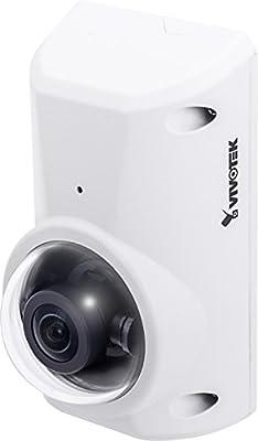 VIVOTEK CC8370-HV IP Interior y exterior Cubo Color blanco - Cámara de vigilancia (Interior y exterior, Cubo, Alámbrico, MicroSD (TransFlash), SDHC, SDXC, Color blanco, Pared)