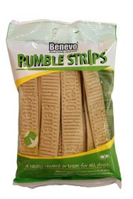 Benevo Rumble Strips Dog Treats - Pack of 20 Strips