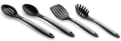 Calphalon Nylon Utensils Spoon, Slotted Spoon, Slotted Turner, Pasta Fork by Calphalon Calphalon Turner