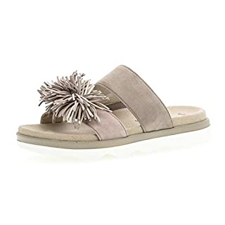 Gabor 24.610 Women,Mules,Mules,Slippers,Slides,Best Fitting,Visone/a`rosa/Skin,36 EU/36 EU