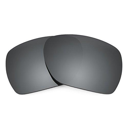 Revant Ersatzlinsen für Oakley Deviation Schwarz Chrom MirrorShield®