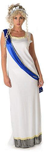 Imperiale Göttin Damen Altes Römisches Griechisches Frauen Erwachsenes Kostüm Neu (Small European 38 - 40 (UK 10 - (Kostüme Griechische Und Römische)