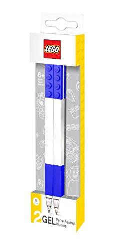 Lego 0229625 Cancelleria Penna Gel, 2 Pezzi, Blu