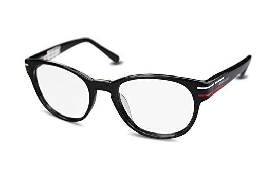 Preisvergleich Produktbild TAG Heuer Unisex Kunststoff Brille TH0532 col. 001 schwarz