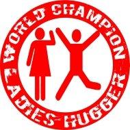 Mister Merchandise Cooles Fun T-Shirt World Champion Ladies Hugger Rot