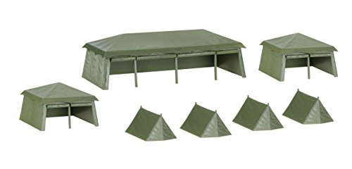 Herpa 745826 - Fahrzeug, Military: Bausatz Zelte, 7 Stück