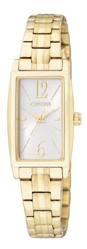 Citizen  EX0302-51A – Reloj de cuarzo para mujer, con correa de acero inoxidable, color dorado