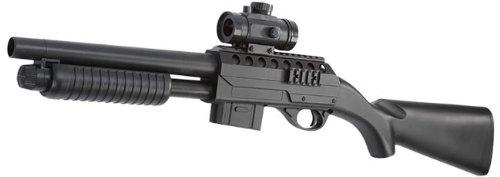 M3000 Shotgun mit Leuchtpunktzielgerät Softair 6mm BB (Bb Schrotflinte)