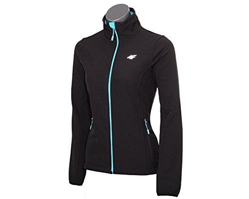 Giacca softshell da donna giacca da allenamento giacca * Colori assortiti * nero S