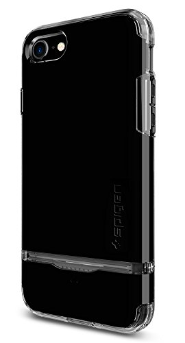 Spigen iPhone 7 Case Flip Armor 4.7 Cover Nero FA_Jet Nero