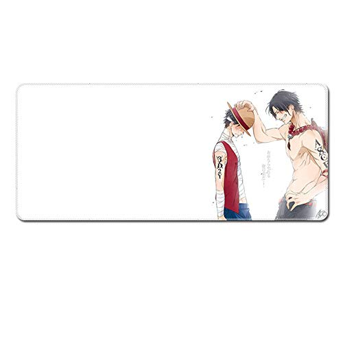 Gaming Mouse Mat XXL | XXL Mouse Pad | Extended Mouse Pad XXXL | Large Mouse Pad 900x400x3mm | 1000 * 400 * 3 | 1200 * 500 * 3 |One Piece Mouse Pad XXL | Anime Mouse Pad (Pad Anime Mouse)